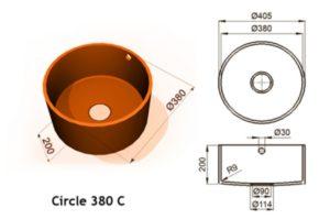 Circle 380 C