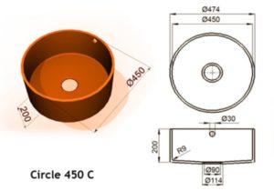 Circle 450 C