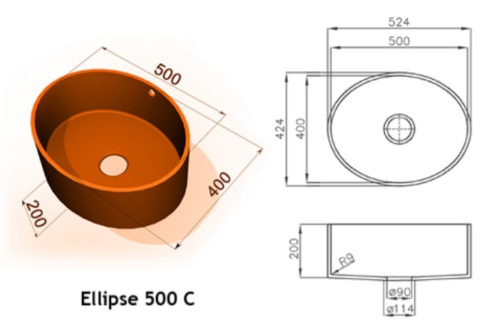 Ellipse 500 C