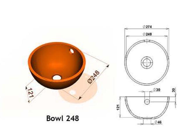 Bowl 248 - Интегрированные мойки