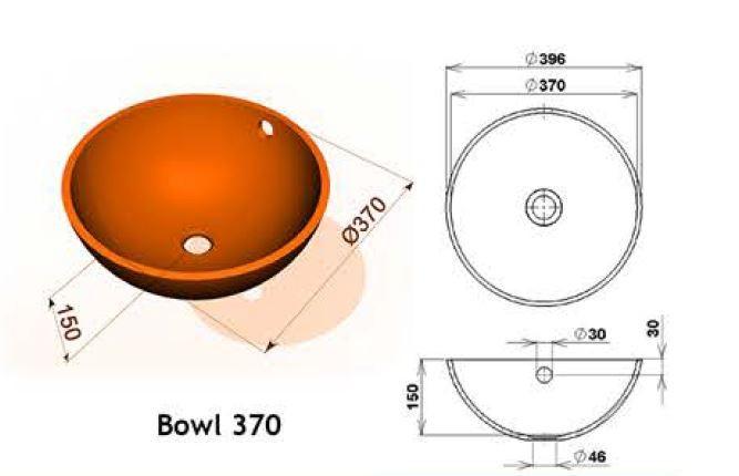 Bowl 370 - Интегрированные мойки